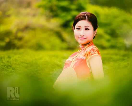 Garden Chinese Girl-1