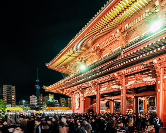 Asakusa New Year Eve-1